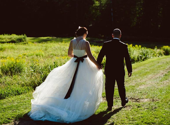 Gorgeous real weddings wedding dress inspiration and for Wedding dress stain removal