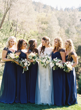Monique Lhuillier Real Wedding From Caroline Yoon Photography