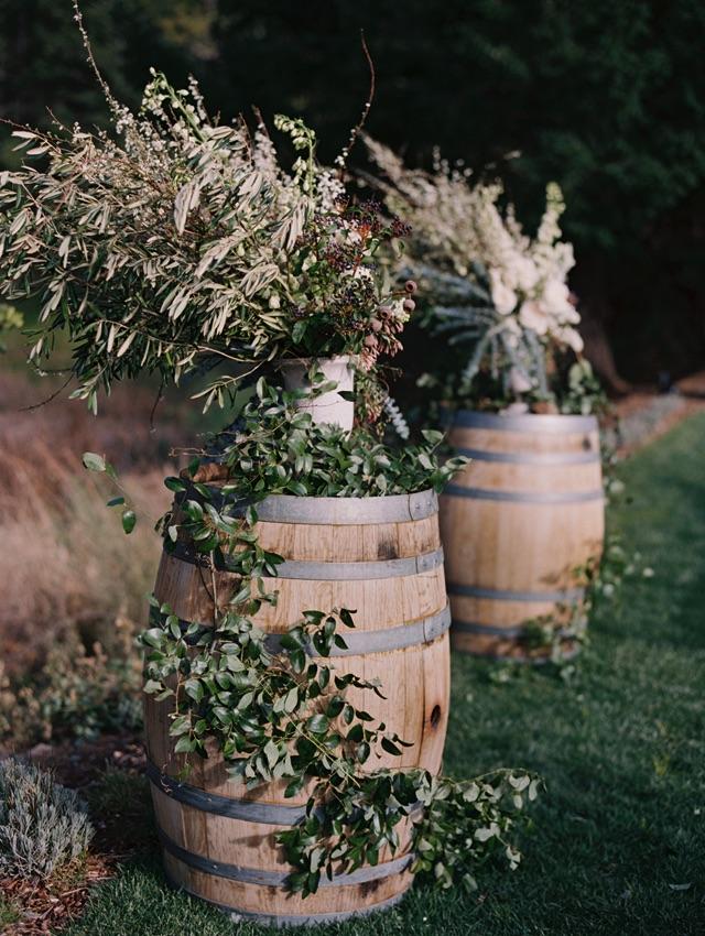 15-ceremony-florals-barrels