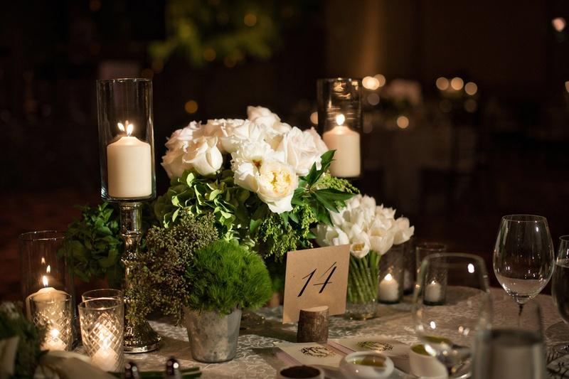 Fabulous Foliage at Weddings   PreOwnedWeddingDresses.com