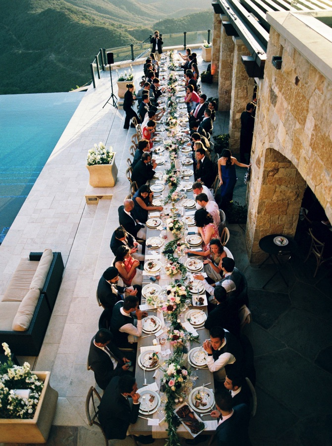 Amazing Non-traditional Wedding Reception Seating | Preowneweddingdresses.com