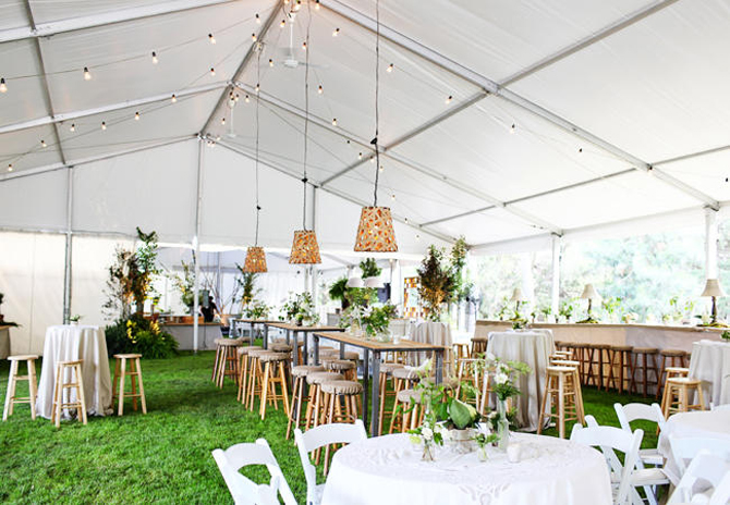 Amazing Non-traditional Wedding Reception Seating | Preownedweddingdresses.com