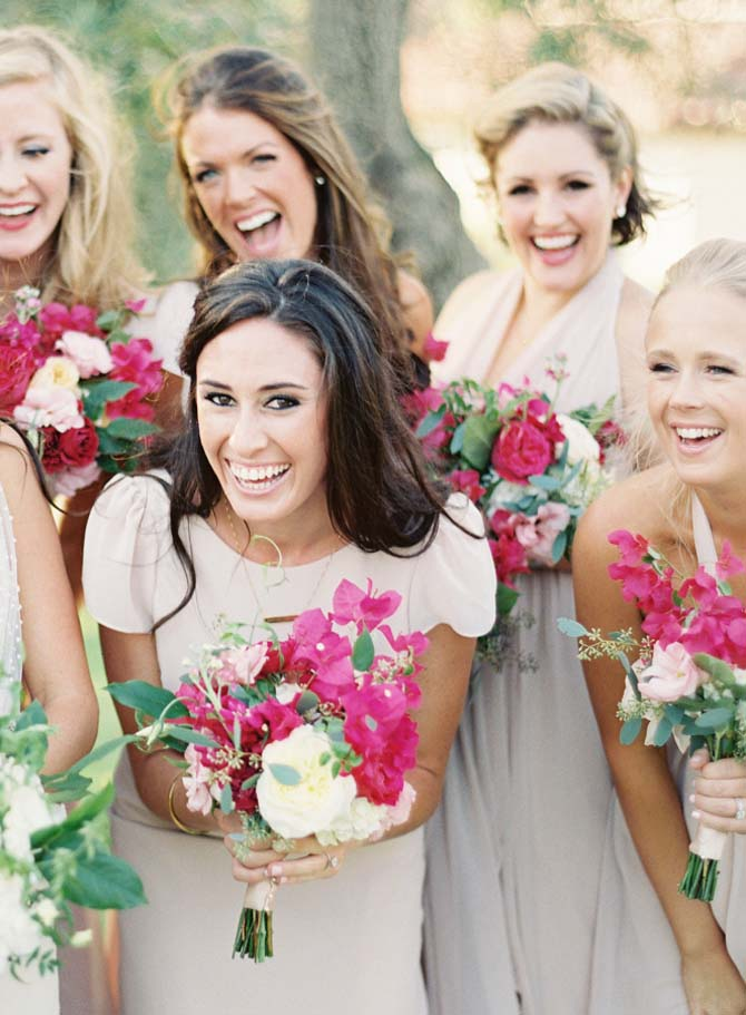 Hot Pink Bridal Bouquets | PreOwnedWeddingDresses.com