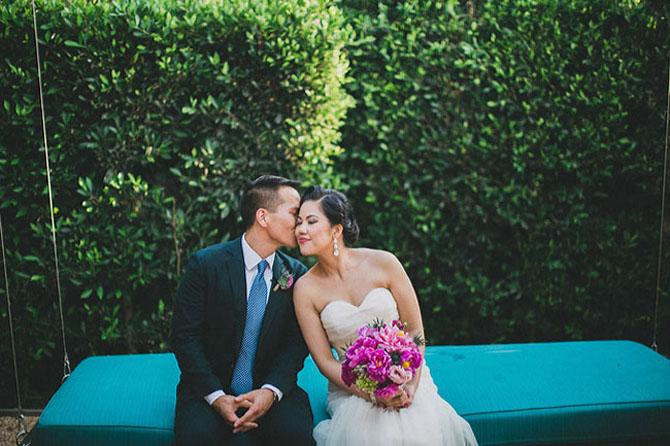 Hot Pink Bridal Bouquets | PreOwnedWeddingDresses.com