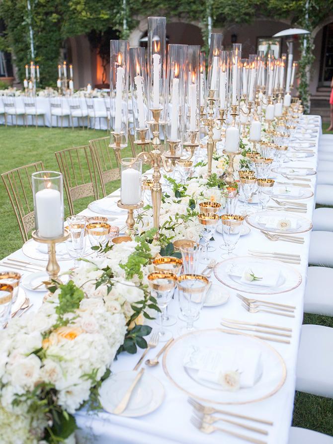 Wedding Reception Candles Ideas   PreOwnedWeddingDresses.com