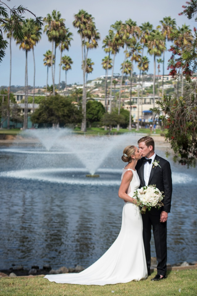 Amsale Real Wedding From Lenoce Photo | PreOwned Wedding Dresses