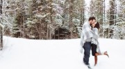 Winter Engagement Photo Ideas | PreOwnedWeddingDresses.com
