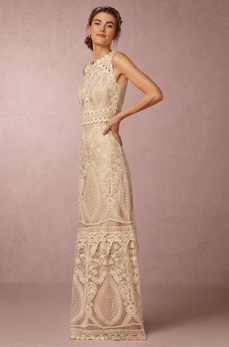 BHLDN Boho wedding dress