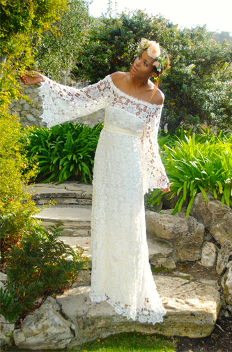 Dreamers and Lovers Holly boho wedding dress