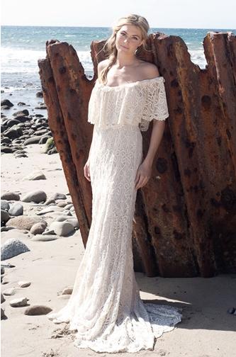 Kite & Butterfly Boho wedding dress