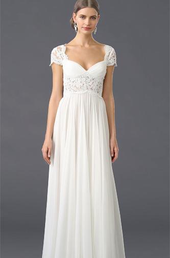 Reem Acra Adele boho wedding dress