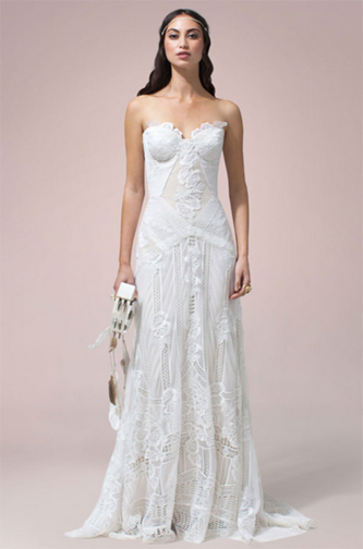 Gorgeous real weddings wedding dress inspiration and for Rue de seine wedding dress prices