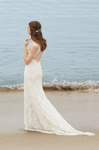 Watters Willowby boho wedding dress