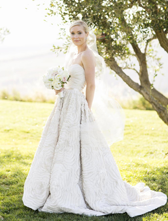 used amsale dahlia wedding dress for sale