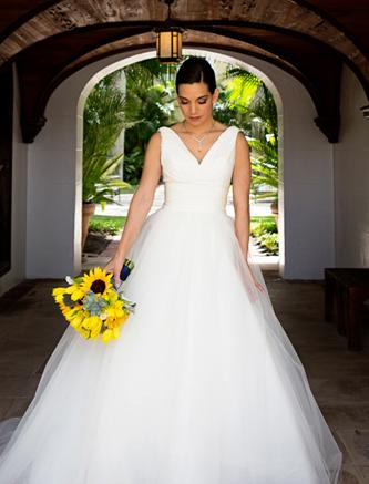 used carolina herrera chloe wedding dress for sale