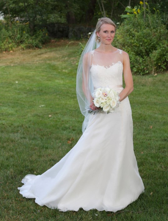 used christos ophelia wedding dress for sale