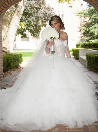 used ines di santo wedding dress for sale