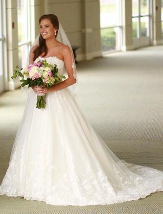 used justin alexander wedding dress for sale
