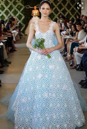 Oscar de la Renta 44e52 wedding dress | PreOwnedWeddingDresses.com