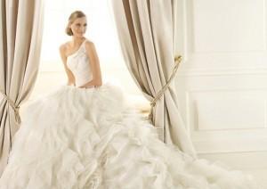 pronvias wedding dress for sale