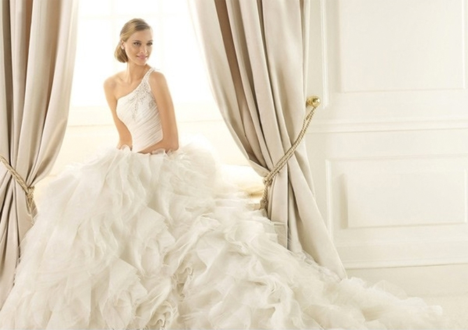 pronvias wedding dress for sale