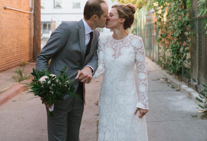used rue de seine chloe wedding dresses for sale