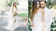 used rue de seine fox wedding dress for sale
