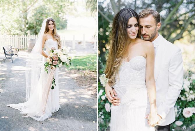used rue de seine fox wedding dress for sale