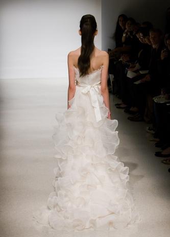 amsale wedding dress for sale