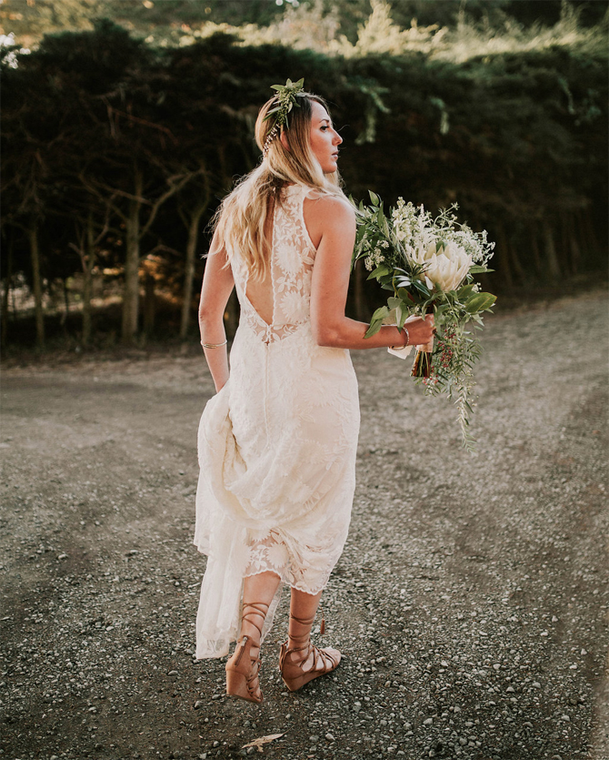 used rue de seine florence wedding dress
