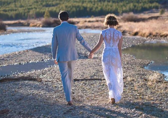 used rue de seine ivy wedding dress for sale