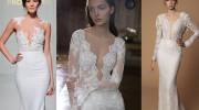daring necklines | wedding dress trends