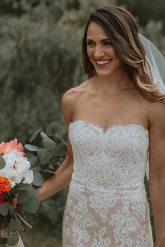 Anne Barge Cocoa wedding dress