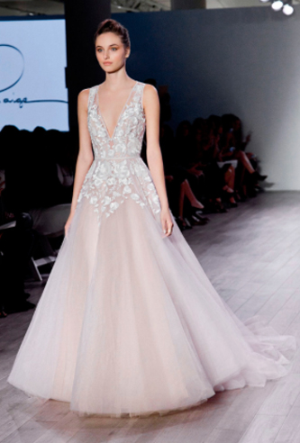 hayley paige leah wedding dress