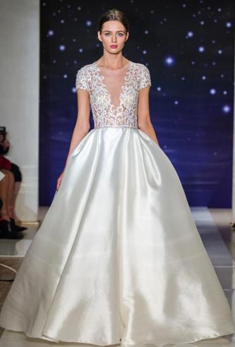 reem acra she's a star wedding dress