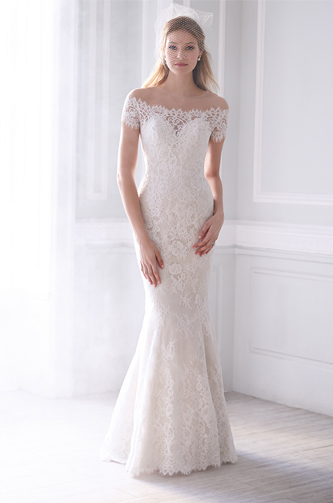 Allure bridal mj 166 wedding dress