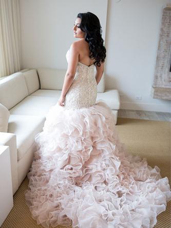 Danielle Caprese wedding dress for sale