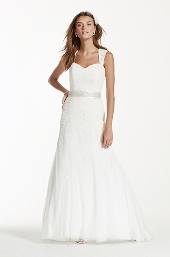 david's bridal wedding dress for sale