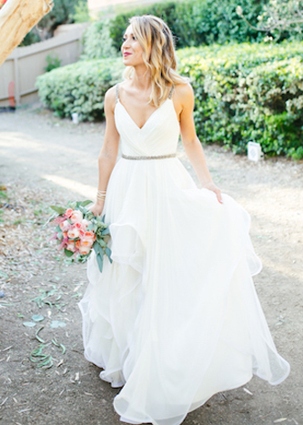 hayley paige luca wedding dress for sale