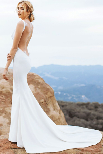 katie may barcelona wedding dress for sale