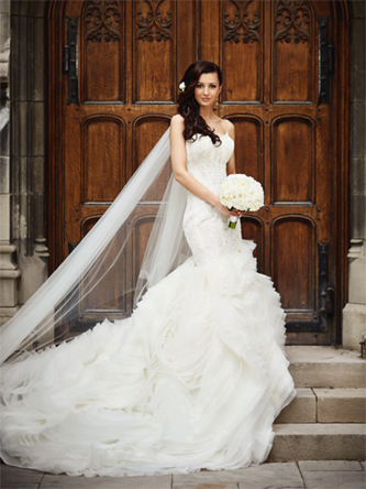 Lazaro 3201 Wedding Dress For