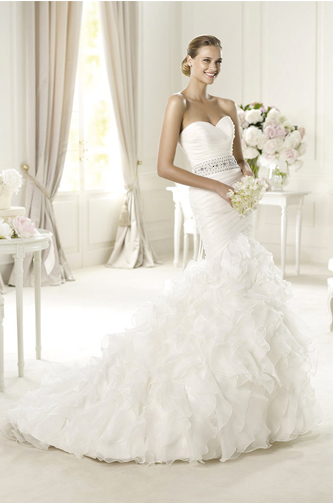 pronovias usia wedding dress