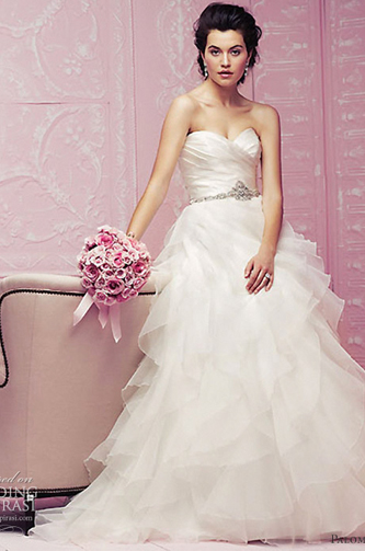 paloma blanca 4256 wedding dress for sale