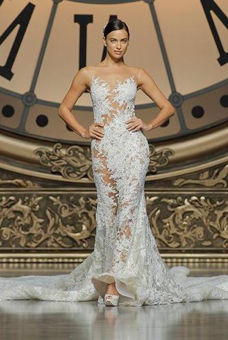 pronovias verda wedding dress for sale
