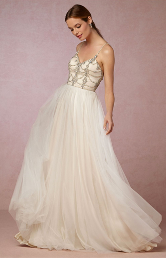 bhldn freya wedding dress for sale