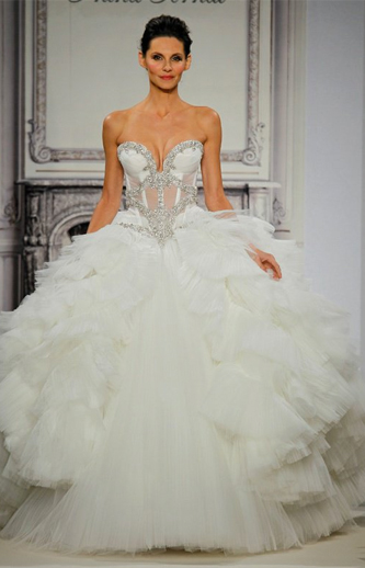 used pnina tornai wedding dress for sale