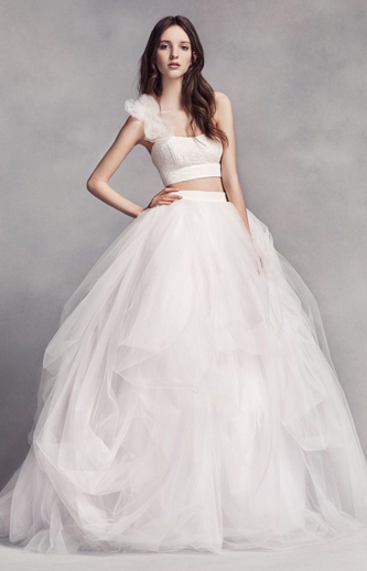 vera wang white wedding dress for sale