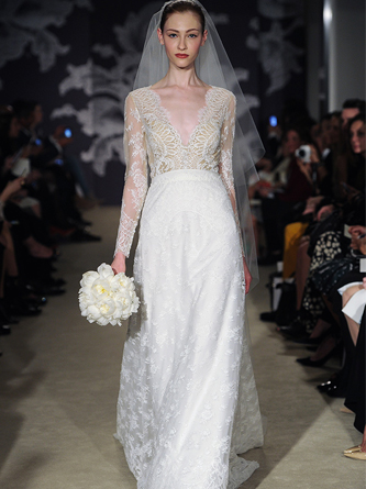 carolina herrera wedding dress for sale