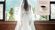 Coffee Stains on your wedding dress