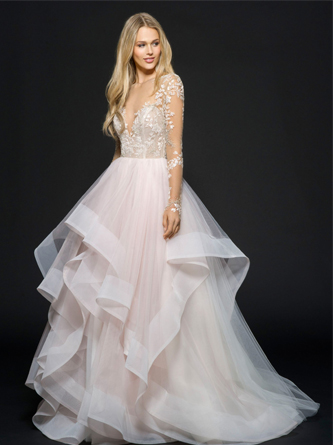 hayley paige wedding dress for sale